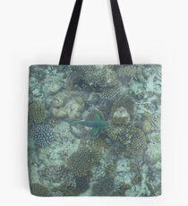 Corel Fish Tote Bag