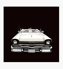 50s Ford Fairlane Convertible Photographic Print