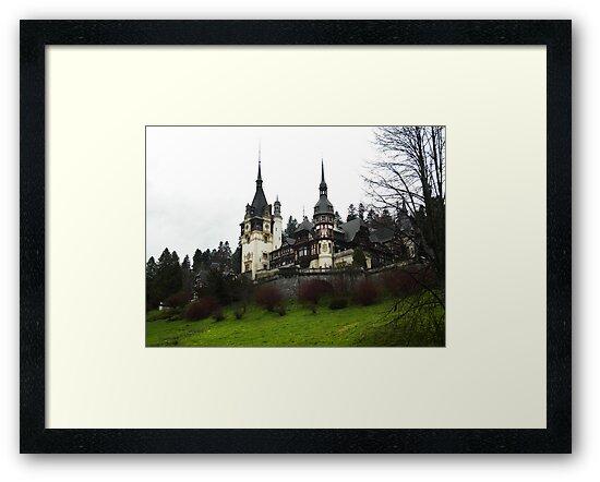 Peleş Castle - Sinaia, România  by yellowAlien