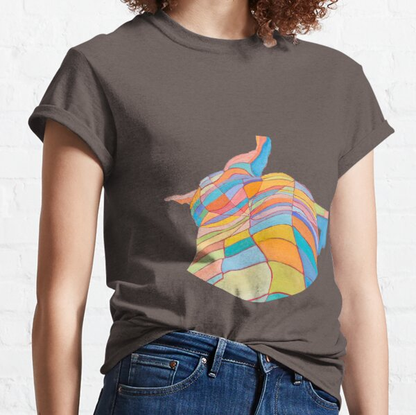 sensitive and alive. It invites the eye to escape and change of scenery. Classic T-Shirt