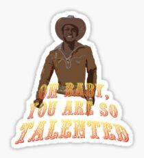 Blazing Saddles Sticker