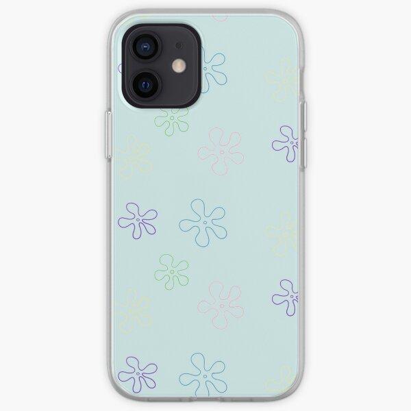 sponge bob flower pack iPhone Soft Case