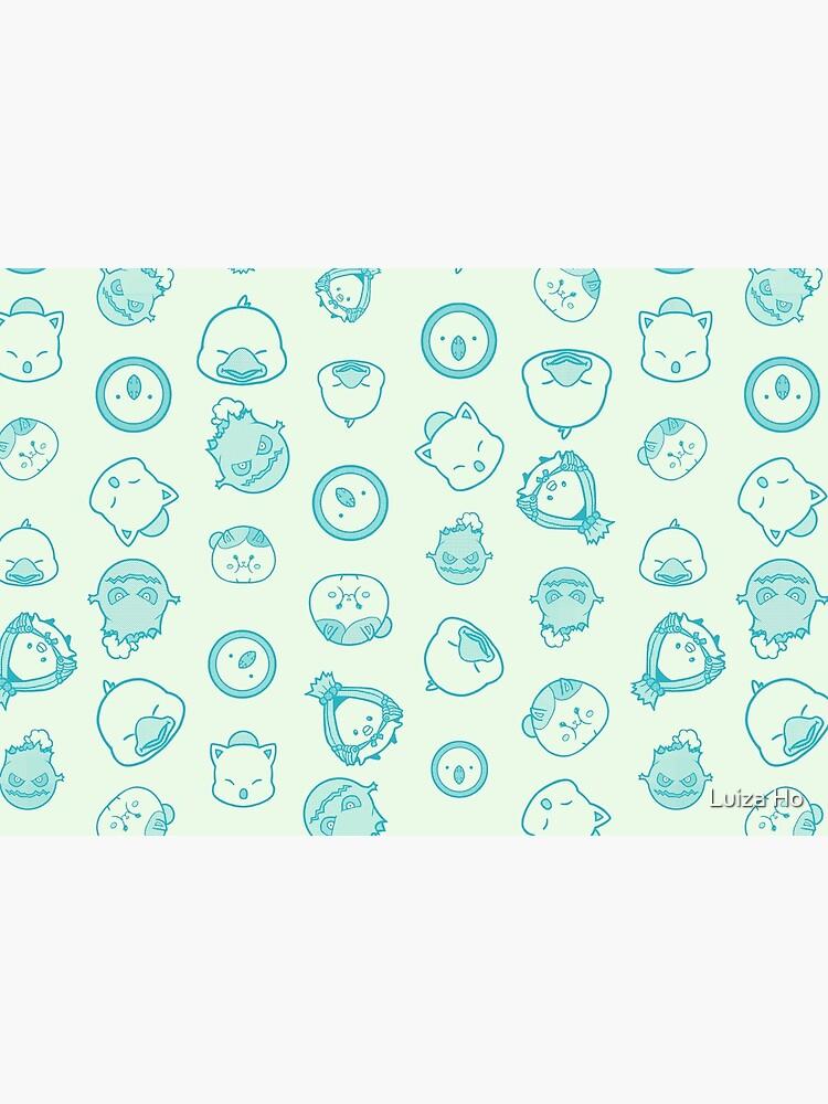FFXIV Minion Party - Mint by teapotsandhats