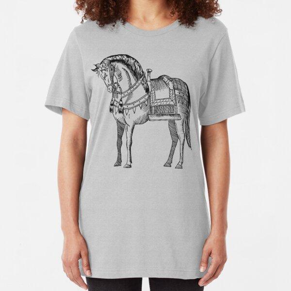 Horse Slim Fit T-Shirt