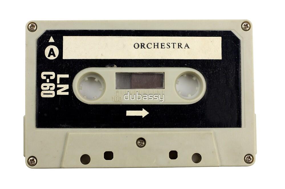 retro cassette tapes  by dubassy