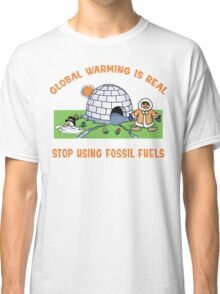 Earth Day Stop Global Warming Classic T-Shirt