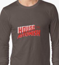 House to Astonish – Red Logo Long Sleeve T-Shirt