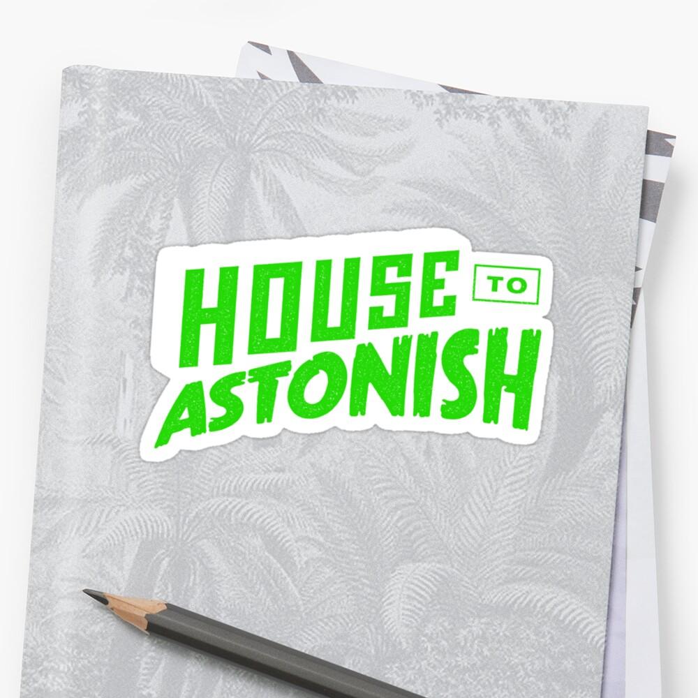 House to Astonish – Green logo by HouseToAstonish