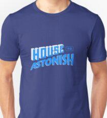 House to Astonish – Blue logo Unisex T-Shirt
