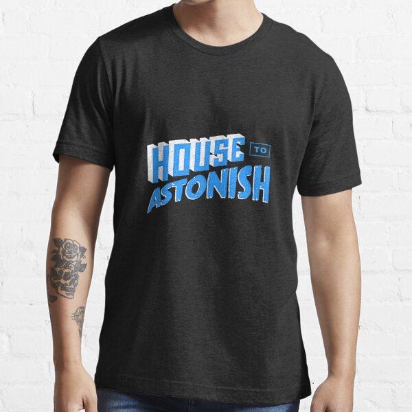 House to Astonish – Blue logo Essential T-Shirt