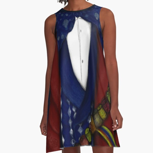 The Mad Hatter. A-Line Dress