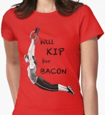 Will KIP for BACON Womens Fitted T-Shirt