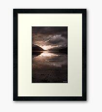 Sunset's Gold || Arrochar and Loch Long, Scotland Framed Print