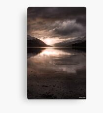 Sunset's Gold || Arrochar and Loch Long, Scotland Canvas Print