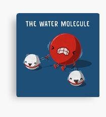 The Water Molecule Canvas Print