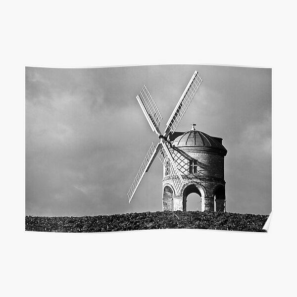 Chesterton Windmill  Shadows Poster