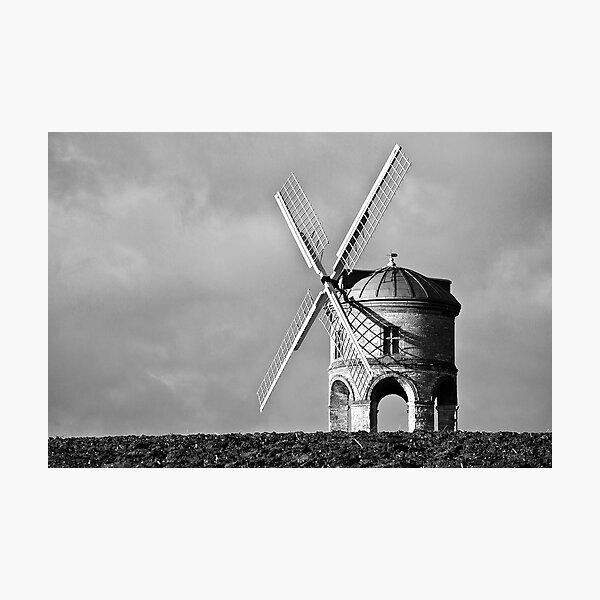 Chesterton Windmill  Shadows Photographic Print