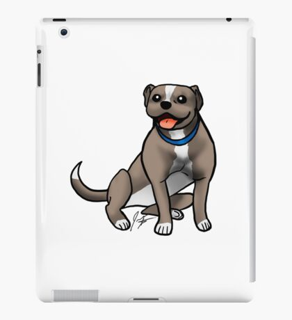 Pitbull iPad Case/Skin