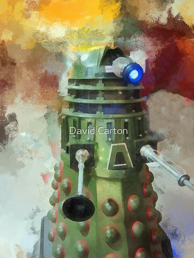 Dalek invasion of Earth, AD 2013 by David Carton