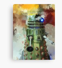 Dalek invasion of Earth, AD 2013 Canvas Print