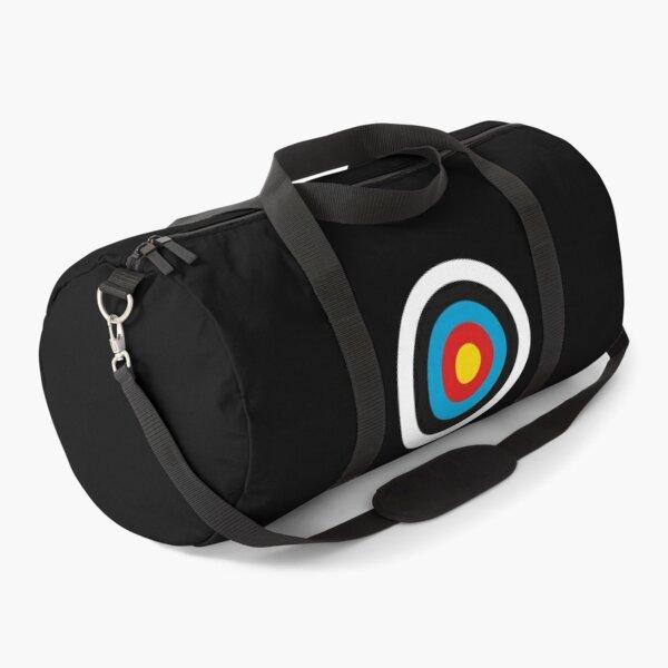 Archery Target No Lines Duffle Bag