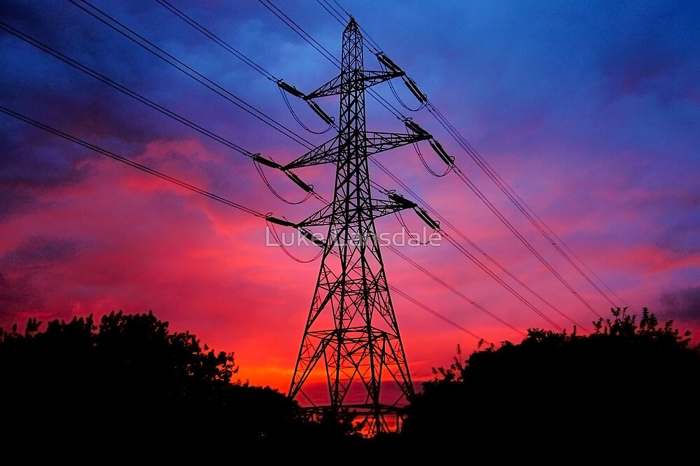 Electricity in the air tonight by Luke Lansdale