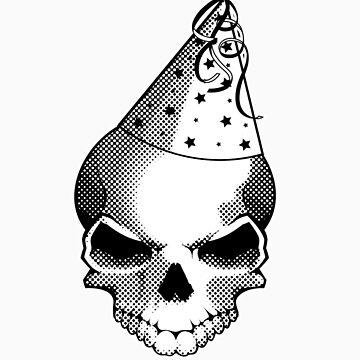 Party Skull sticker by dmccreative