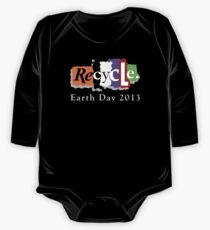 Earth Day 2013 Recycle One Piece - Long Sleeve