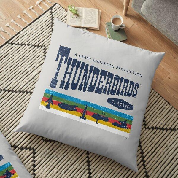 Thunderbirds Classic Logo and Birds Floor Pillow