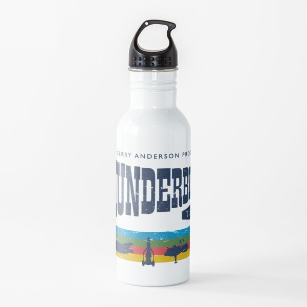 Thunderbirds Classic Logo and Birds Water Bottle