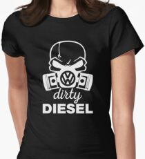 VW Dirty Diesel  Womens Fitted T-Shirt