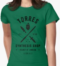 Torres Synthesis Shop Womens Fitted T-Shirt