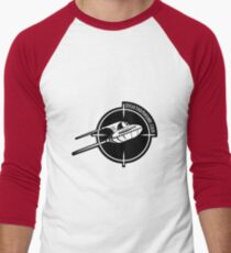UFO logo Men's Baseball ¾ T-Shirt