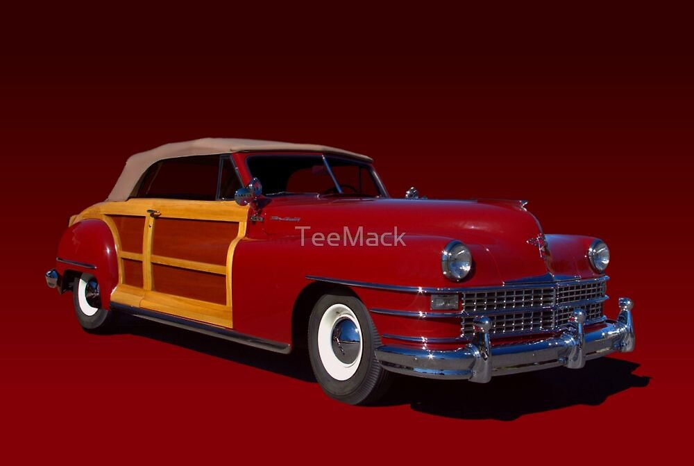 1946 Chrysler Town and Country Convertible by TeeMack