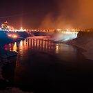 Lights on Niagara! by vasu