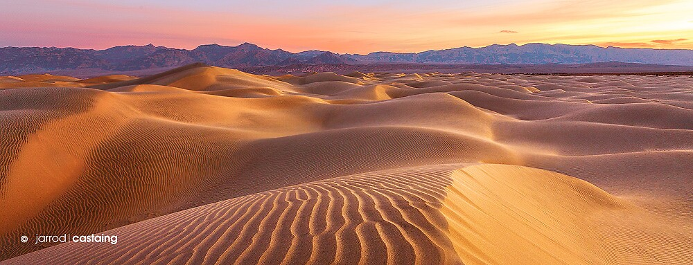 Death Valley Dunes - Limited Edition Fine Art Photograph by Jarrod Castaing