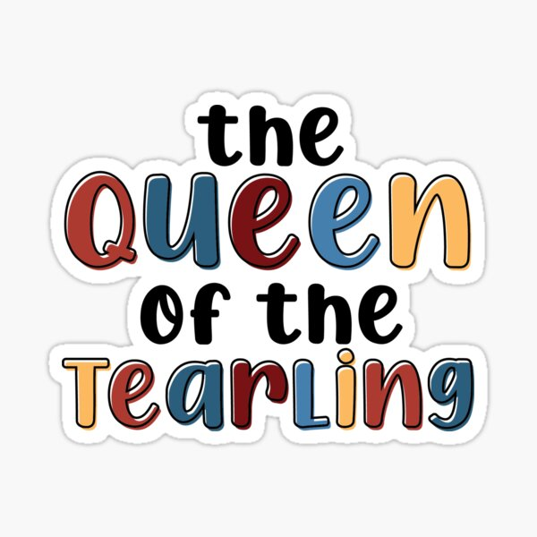 The Queen of the Tearling Sticker