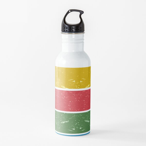 Thunderbirds Classic - Birds Silhouettes on Stripes Water Bottle