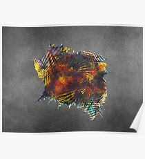 Cube - Fractal Art Poster
