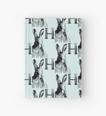 H is for Hare Hardcover Journal