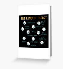 The Kinetic Theory Greeting Card
