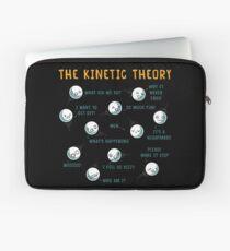 Die kinetische Theorie Laptoptasche