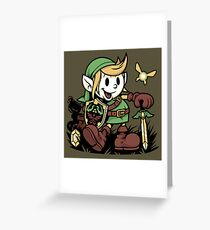 Vintage Link Greeting Card