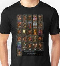 Steampunk - Alphabet - Complete Alphabet T-Shirt