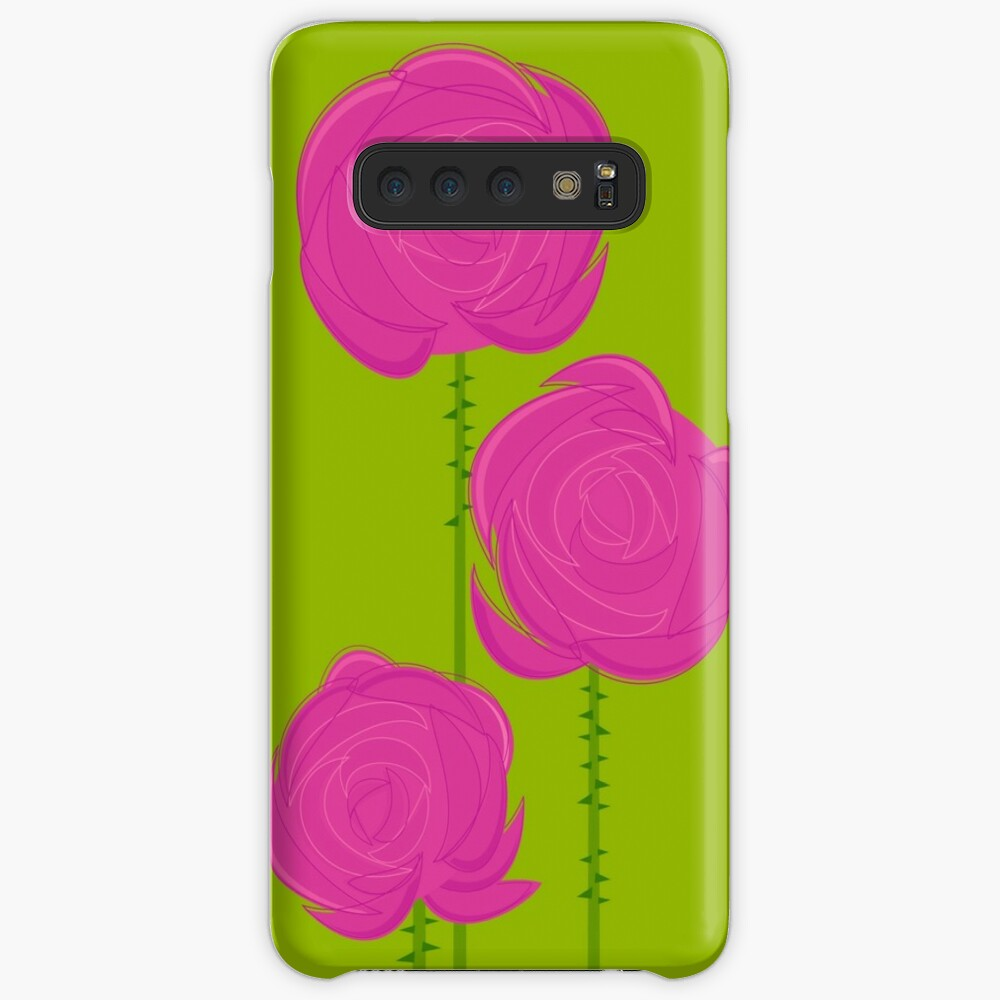Pink Roses Case & Skin for Samsung Galaxy