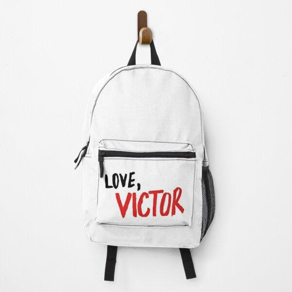 Love, Victor series logohandlettering Backpack