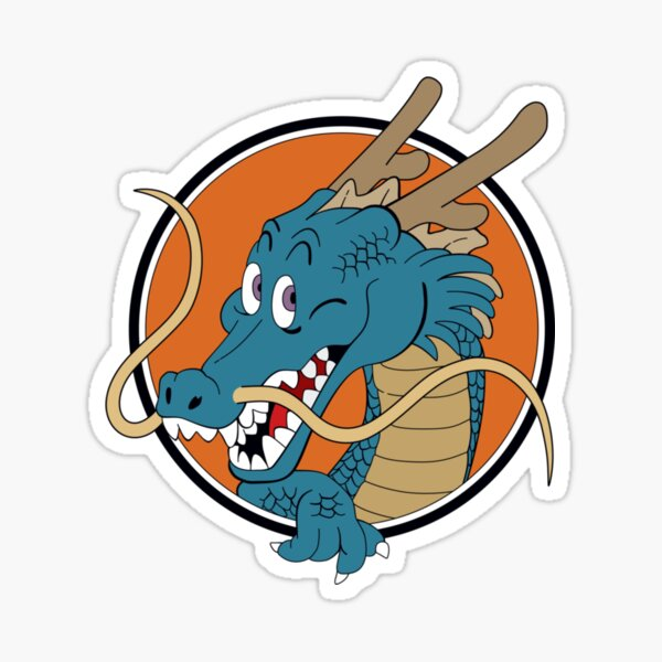 Dragon ball shenron Sticker