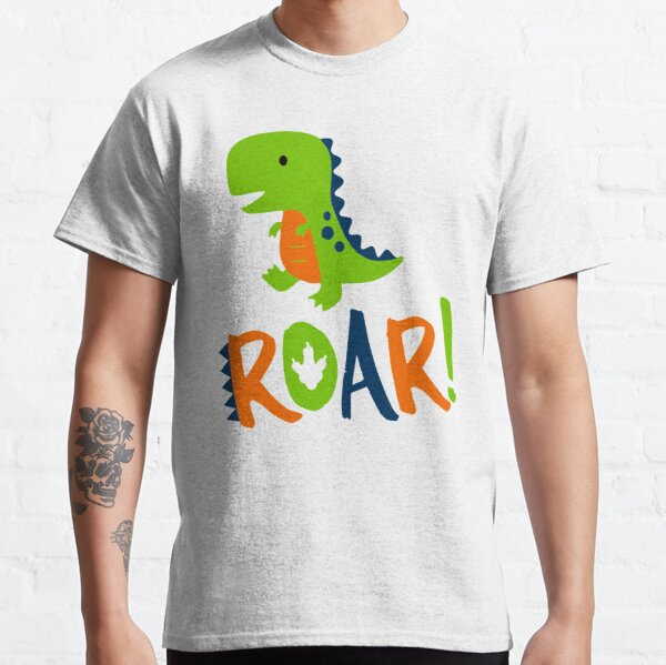 Dino Dinosaur Rawr Roar Classic T-Shirt