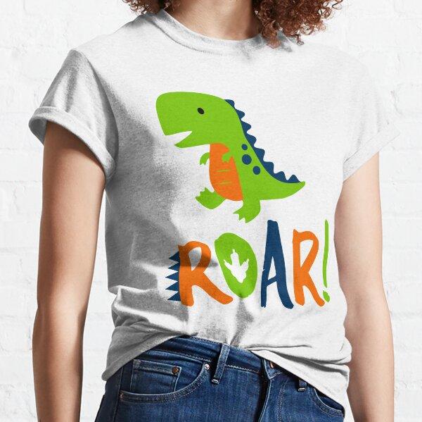 Dino Dinosaur Rawr Roar T-shirt classique