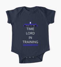 Zeit Herr im Training Baby Body Kurzarm